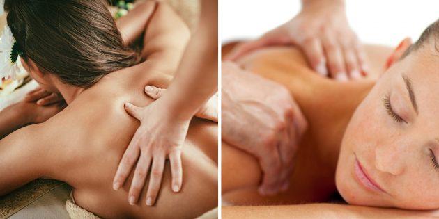 Что подарить подруге на день рождения: курс расслабляющего массажа