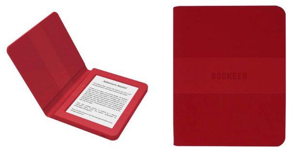 Хорошие электронные книги: Bookeen Saga-Red CYBSB2F-BX
