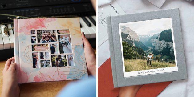 Что подарить подруге на день рождения: сертификат на фотокнигу