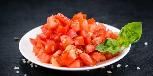 Полезные продукты: свежие помидоры