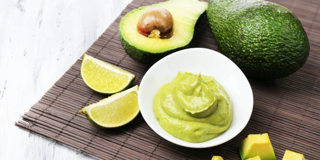 Пюре из авокадо полезнее майонеза