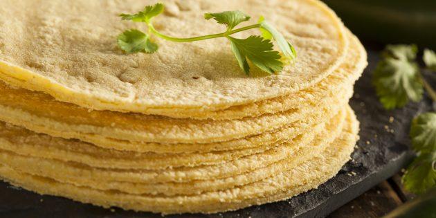 Полезные продукты: лепёшки из кукурузной муки