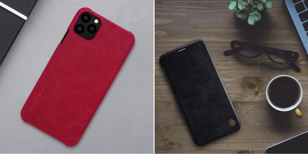 Кожаный чехол для iPhone XR