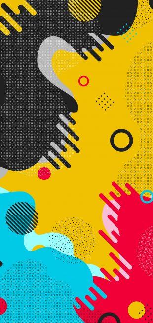 12 ярких абстрактных фоновых картинок для смартфона