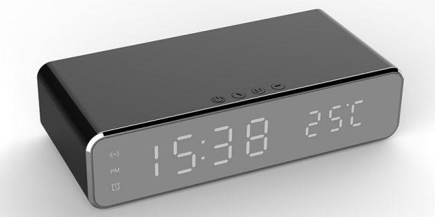 Штука дня: цифровой будильник с функцией беспроводной зарядки