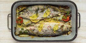 Как приготовить форель в духовке, чтобы рыба получилась сочной и вкусной