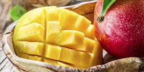 Как выбрать спелое и вкусное манго