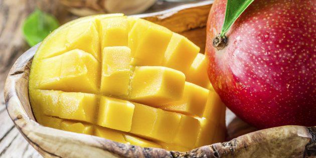 Kak vybrat' speloe i vkusnoe mango