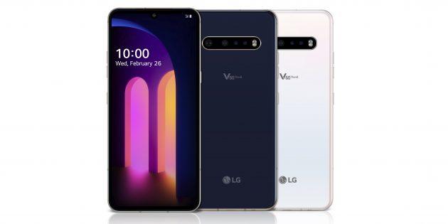 LG представила V60 ThinQ 5G — защищённый флагман с двумя экранами