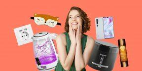 Находки для женщин: умный чайник, гаджеты от Xiaomi, средство для ухода за волосами
