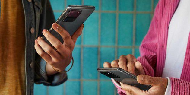 Samsung подтвердила, что в Galaxy S20 будет аналог AirDrop