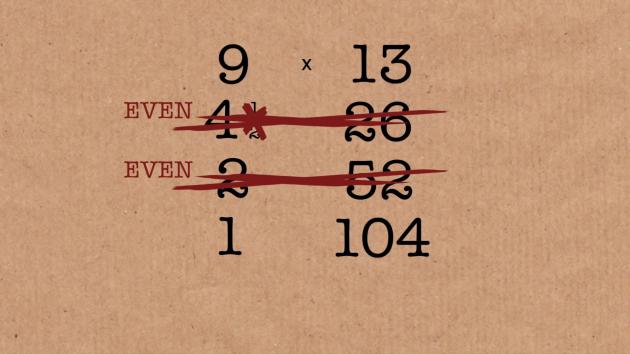 способ умножения чисел