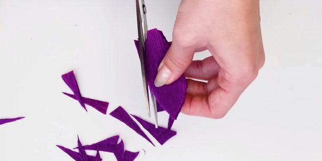 Букет из конфет своими руками: вырежьте лепестки