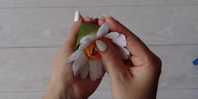 Доделайте цветок