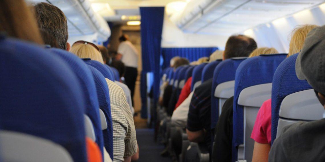 Конфликт пассажиров самолёта из-за откинутого кресла