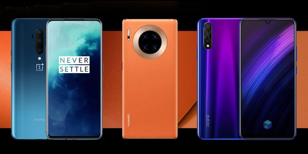 самые мощные смартфоны 2020