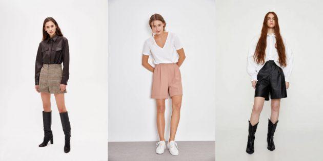 Женская мода весны-лета 2020: образы с шортами-бермудами