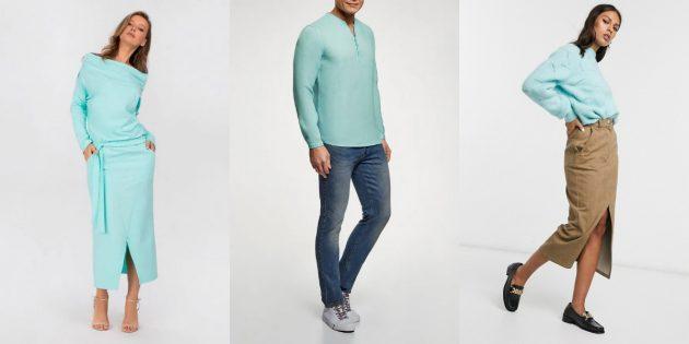Модные цвета, весна-2020: бискайский зелёный