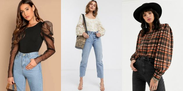 Женская мода — 2020: объёмные «дутые» рукава