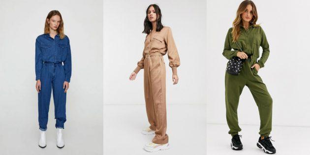 Женская мода — 2020: утилитарность комбинезонов