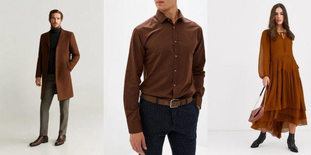 Модные цвета весны-лета 2020года: коричная палочка