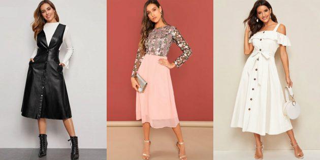 Магазины платьев на aliexpress: SheIn