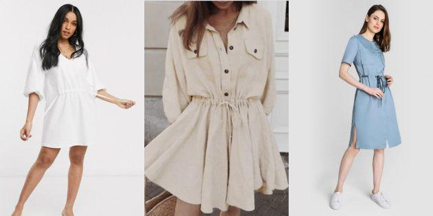 Модные платья — 2020: платья со шнурками