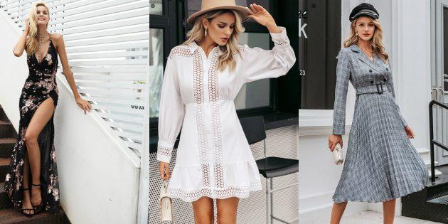 Магазины платьев на Aliexpress: Simplee