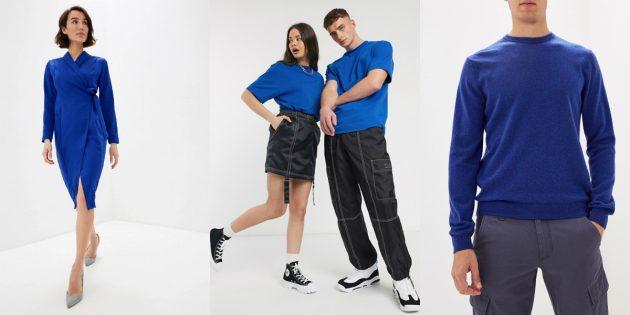 Модные цвета — 2020: классический синий