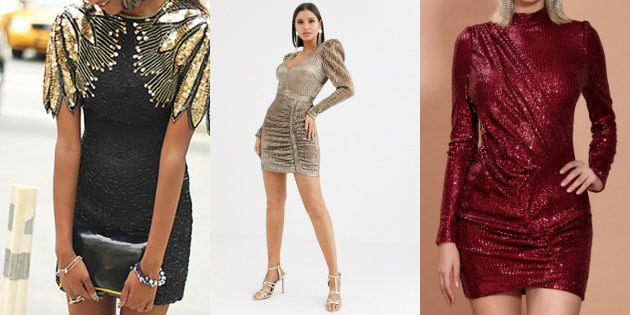 Модные платья весны-2020: платья со стразами