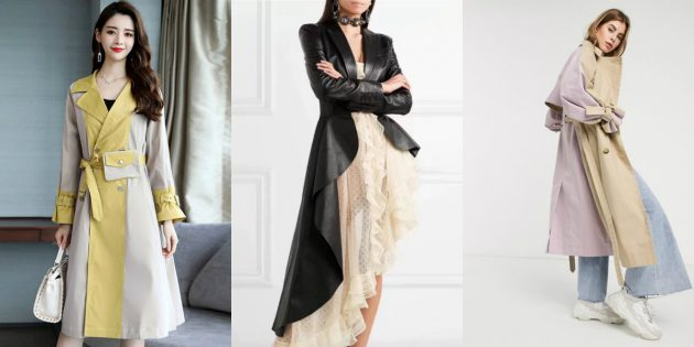 Женская мода — 2020: образы с необычными тренчами