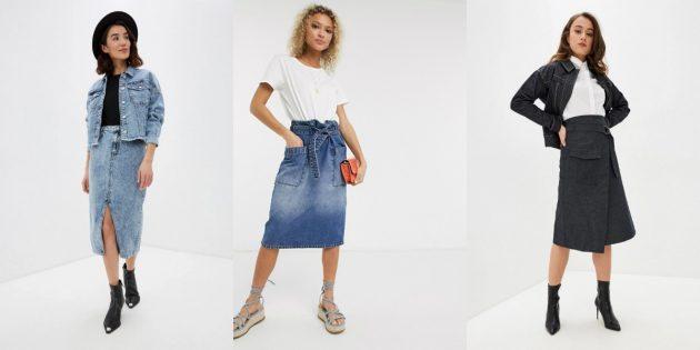 Женская мода — 2020: джинса и длина макси
