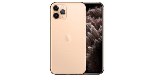 Как выбрать смартфон: Система из трёх камер (широкоугольная, сверхширокоугольная, телефото) на задней панели iPhone 11 Pro Max