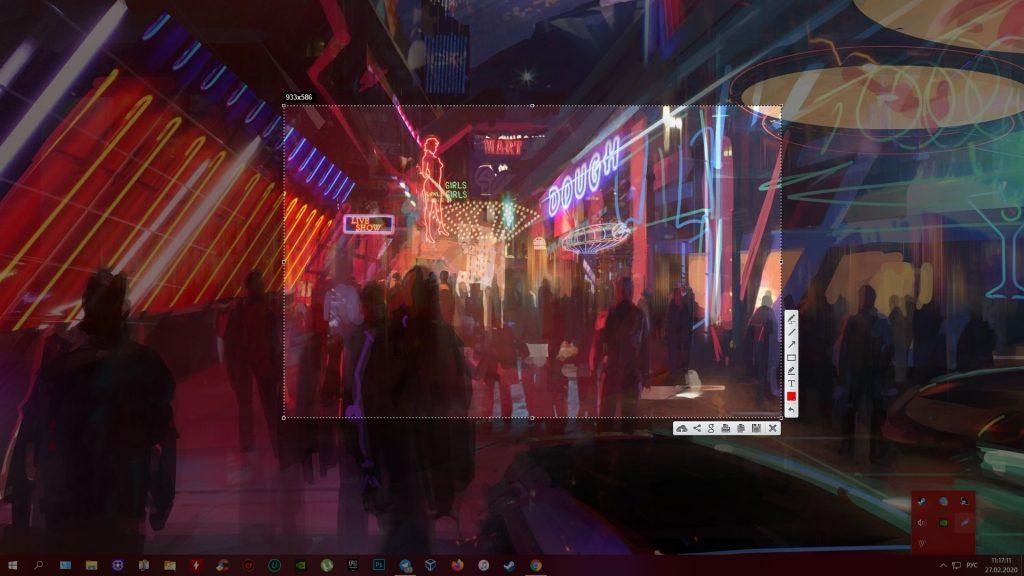 Как сделать скриншот на «Виндовс 10»: LightShot
