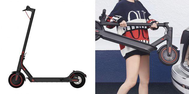 Какой электросамокат купить: Xiaomi Mijia Electric Scooter M365Pro