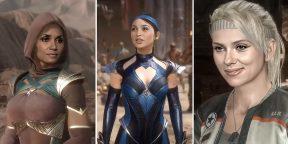 Видео дня: Скарлетт Йоханссон, Анджелина Джоли и другие актрисы в роли персонажей Mortal Kombat 11