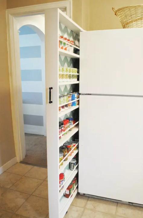 выдвижной шкаф