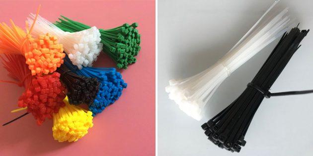 Пластиковые стяжки