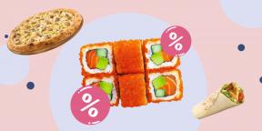 Как сэкономить на доставке еды к 8 Марта: скидки на пиццу, суши и стритфуд
