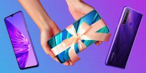 Какой смартфон выбрать в подарок девушке, маме или сестре