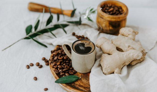 Кофе с имбирём в турке