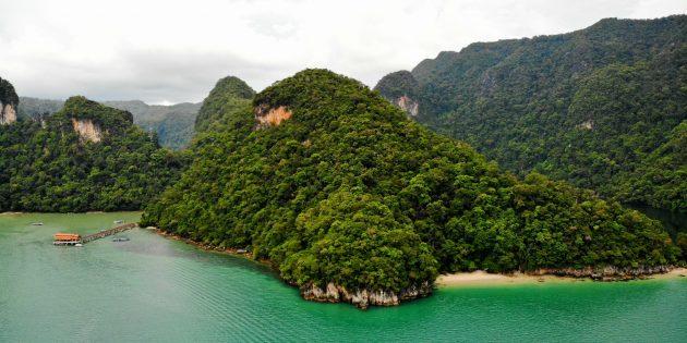 Достопримечательности Лангкави: озеро Беременной Девы