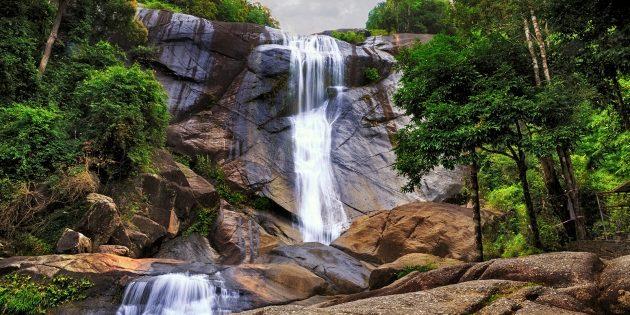 Достопримечательности Лангкави: водопад Семи Колодцев