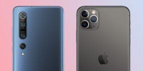 Скорость работы Xiaomi Mi 10 Pro и iPhone 11 Pro сравнили на видео