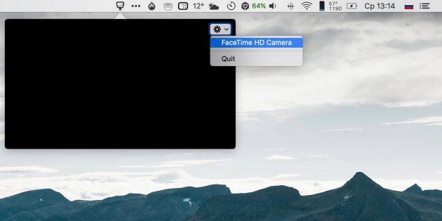 Hand Mirror — утилита-зеркальце для Mac