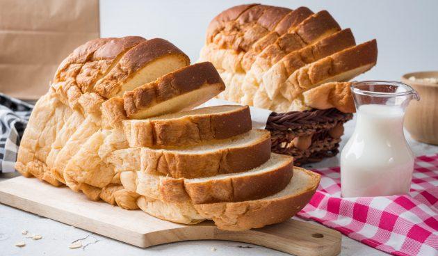 Тостовый хлеб в духовке