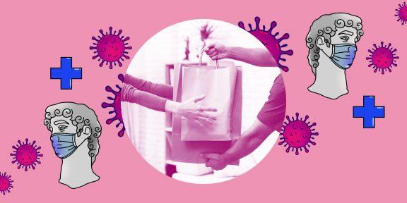 Можно ли заразиться коронавирусом, если заказывать еду на дом