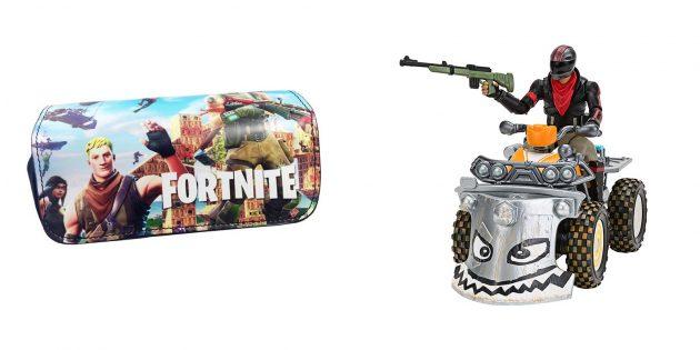 Подарок мальчику: тематические игрушки Fortnite