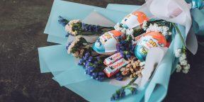 15 способов сделать красивый букет из конфет своими руками