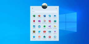 Microsoft показала обновлённое меню «Пуск» в Windows 10